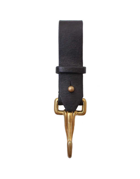 Leather Key Fob - Black