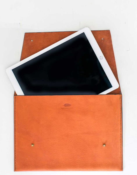 Fair Trade Leather Redwood Portfolio