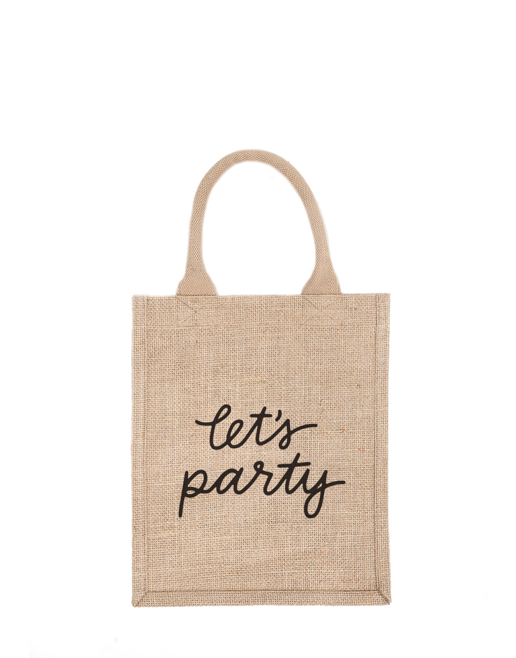 Fair Trade Reusable Gift Message Bag - Let\'s Party | The Little Market