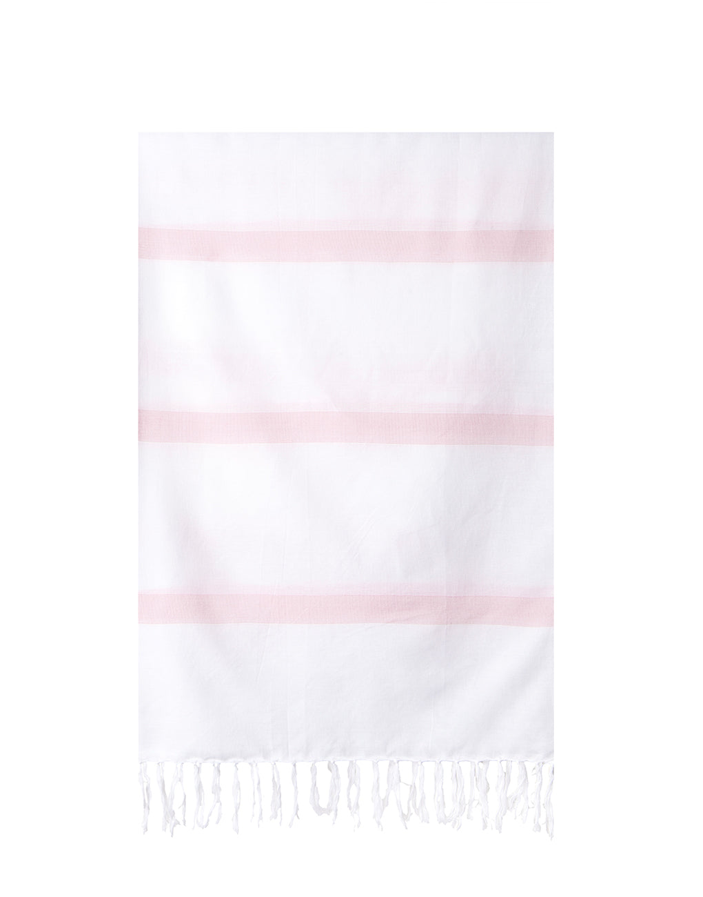 Lightweight Fringe Towel In Style No. 3 In Blush | The Little Market