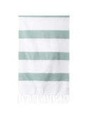 Lightweight Fringe Towel In Style No. 4 In Sage | The Little Market