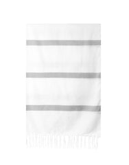 Lightweight Fringe Towel In Style No. 3 In Moss | The Little Market