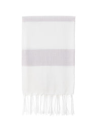Lightweight Fringe Towel in Dove Color from The Little Market