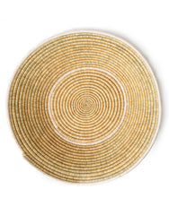 Woven Basket - White + Natural - No. 1A