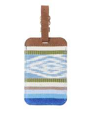 Fair Trade Blue Handmade Luggage Tag Travel