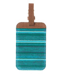 Fair Trade Green Handmade Luggage Tag Travel