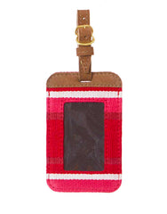 Fair Trade Red Handmade Luggage Tag Travel Gift