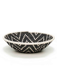 Fair Trade Handwoven Black Basket