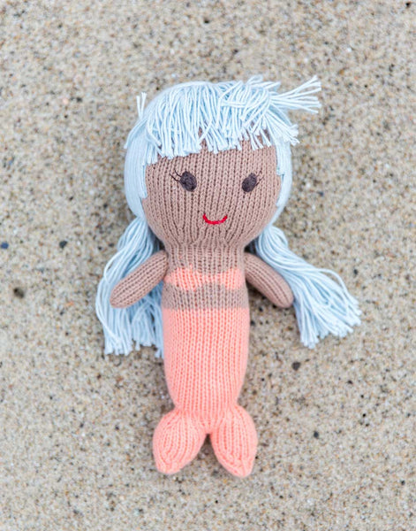 Mermaid Doll - Blue Hair