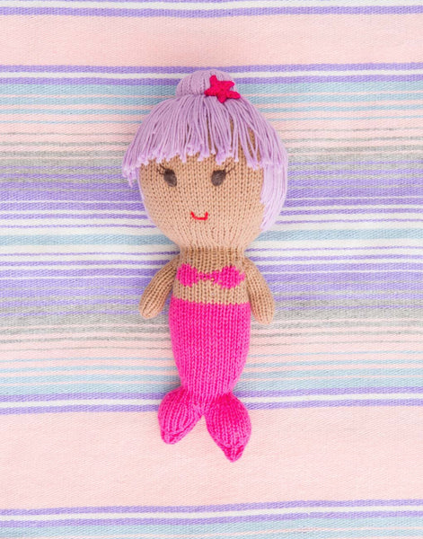 Mermaid Doll - Purple Hair