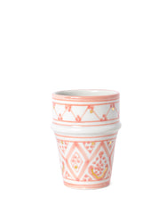 Moroccan Ceramic Cup - Blush - No. 1
