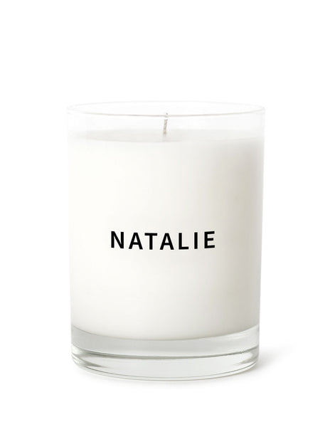 Candle - Name Personalized - Black | Prosperity Candle | The Little Market