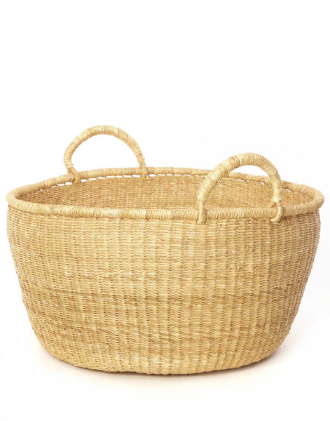 Oversized Market Basket - Natural