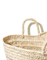 Palm Basket Close Up | The Little Market