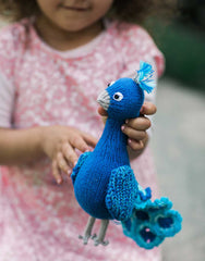 Fair Trade Peacock Kids Stuffed Animal