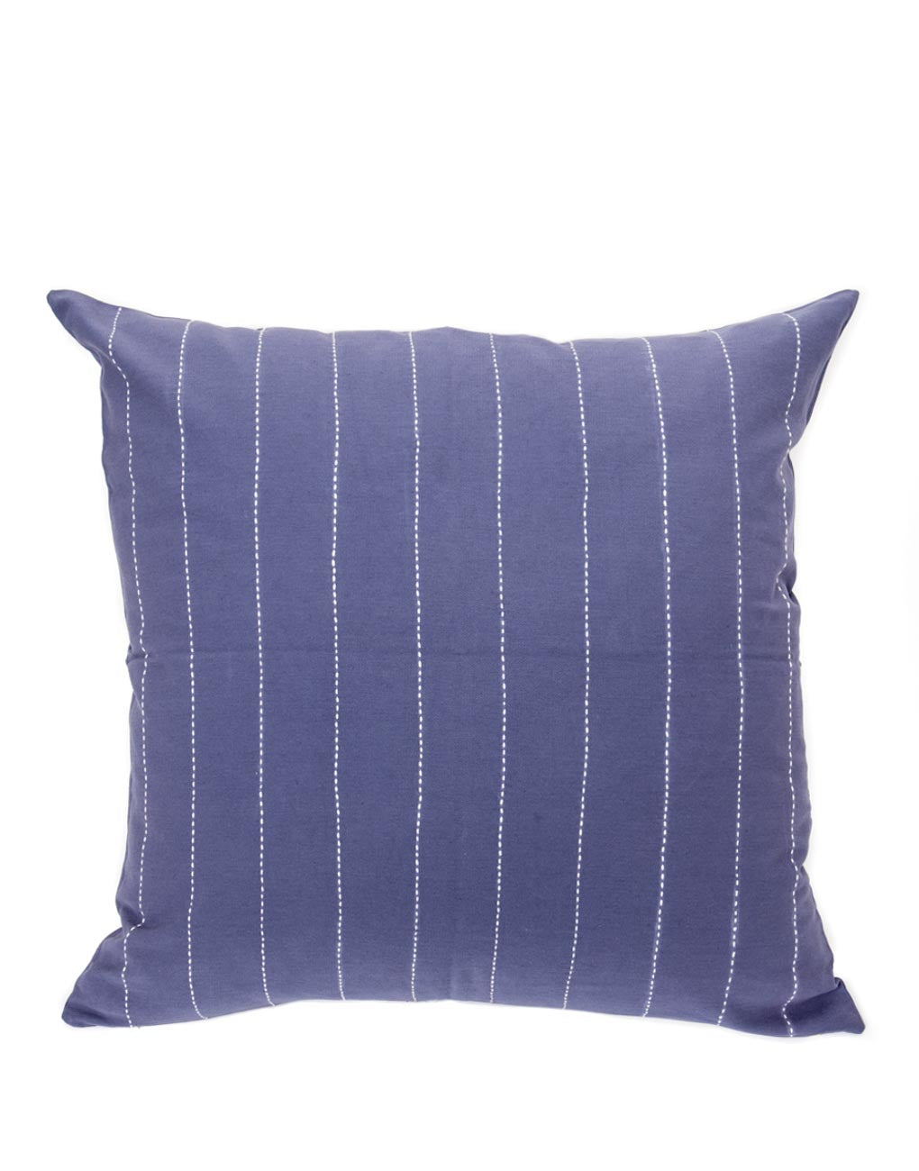 Pinstripe Pillow Cover - Navy