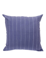Pinstripe Pillow - Navy