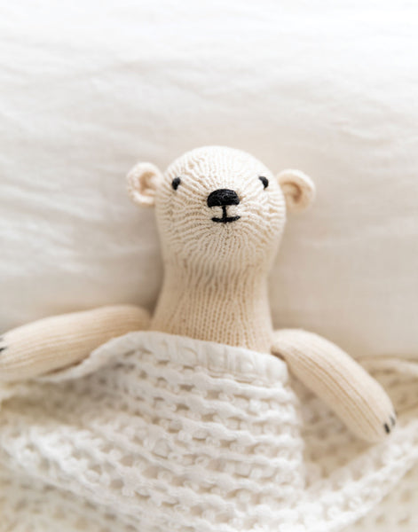 Polar Bear Stuffed Animal | The Little Market