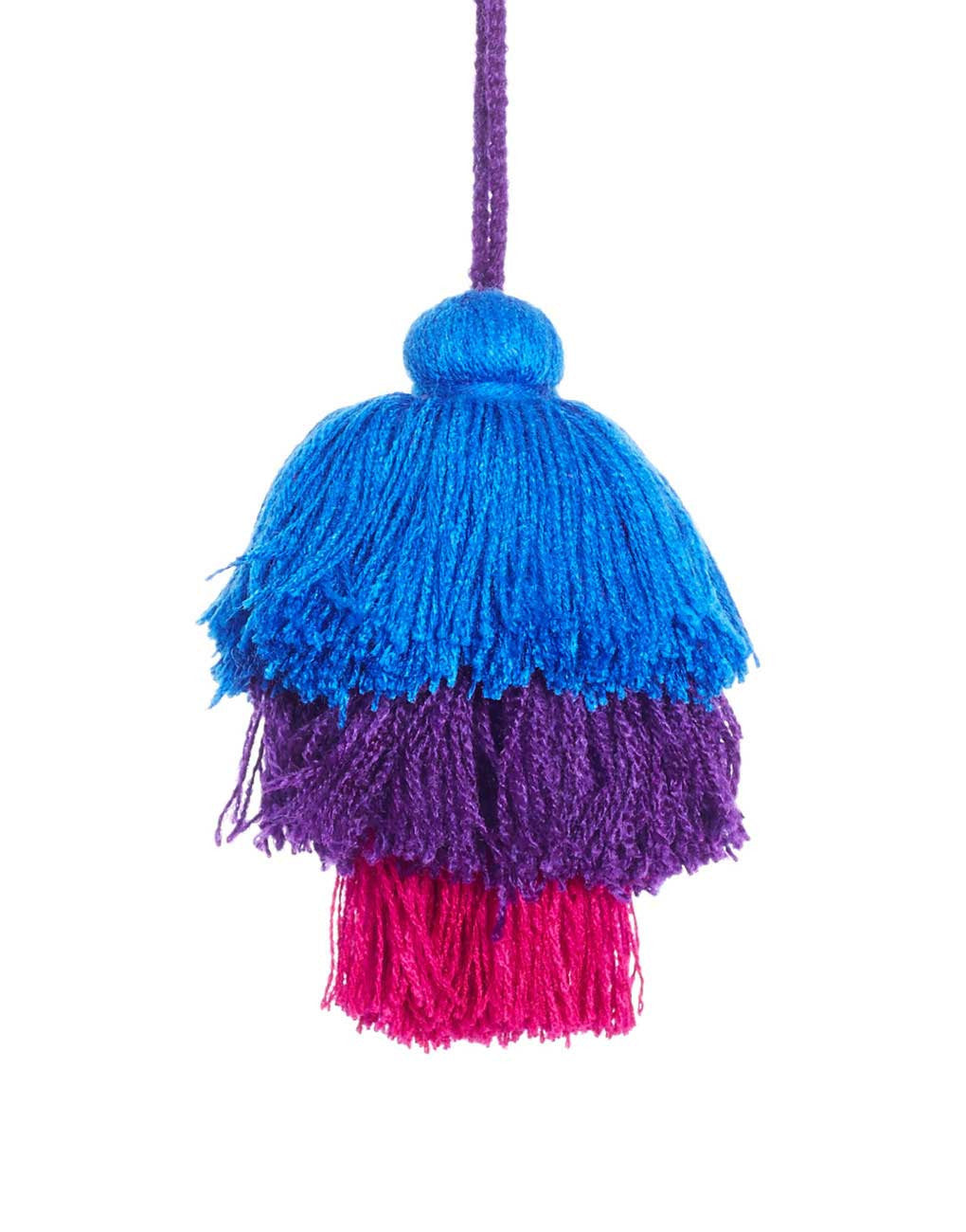 Fair Trade Berry Mexico Pom Pom Decorative Accessory