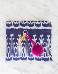 Fair Trade Magenta Pom Pom Decorative Accessory
