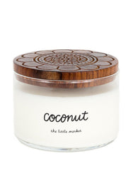 Artisan Made, Non-GMO 3-Wick Candle, Coconut