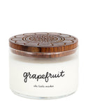 Artisan Made, Non-GMO 3-Wick Candle, Grapefruit
