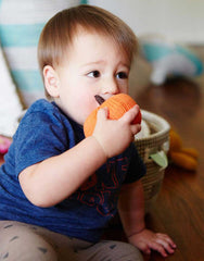 Pumpkin Shaped Baby Rattle