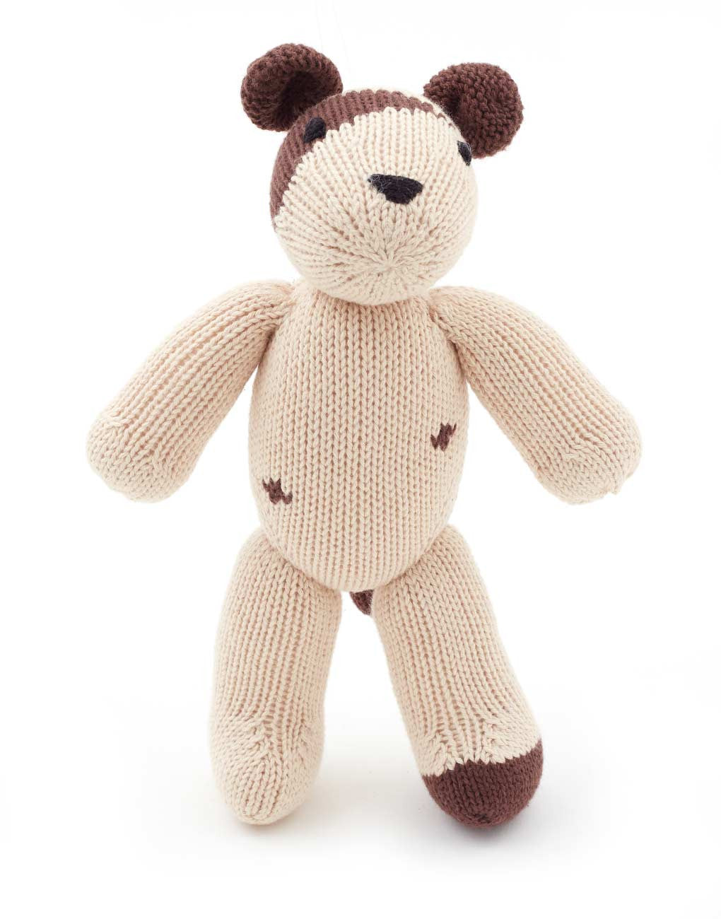 Fair Trade Artisan Knit Puppy Stuffed Animal