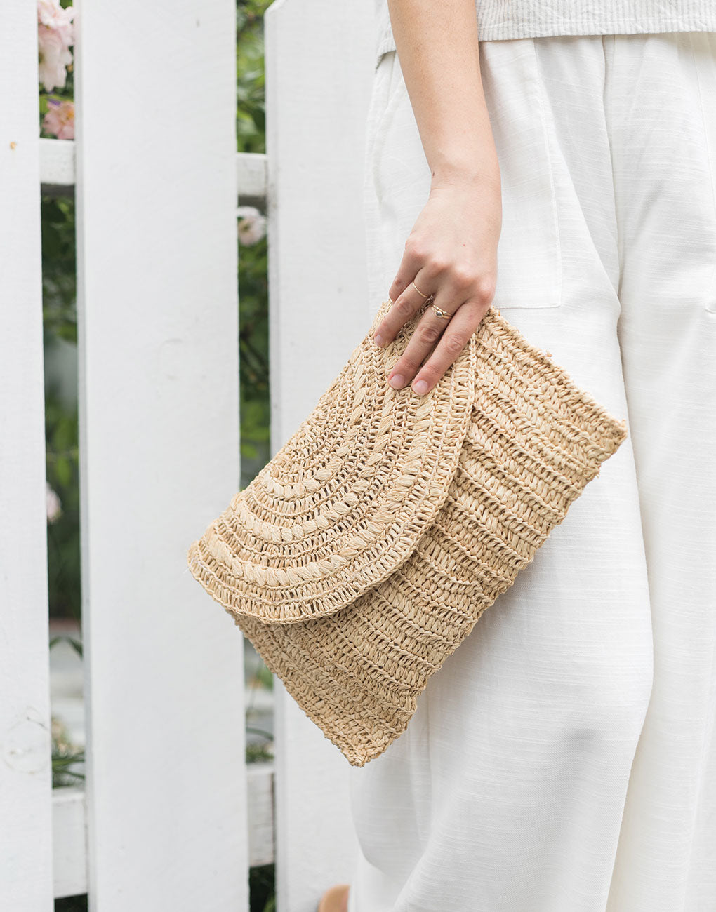 Raffia Clutch | The Little Market
