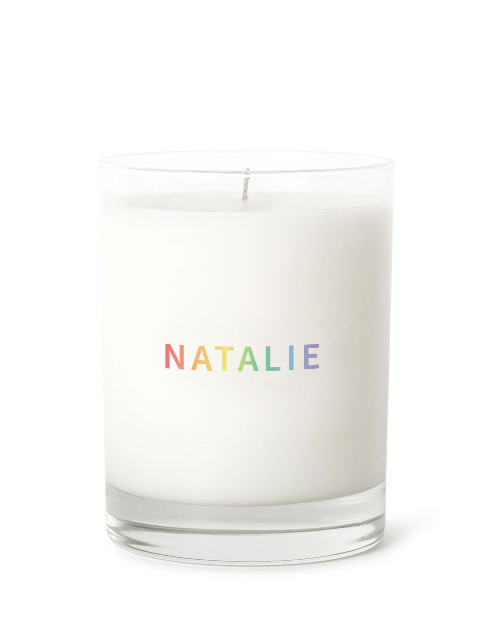 Candle - Name Personalized - Rainbow | Prosperity Candle | The Little Market