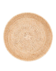 Round Rattan Woven Serving Tray | The Little Market