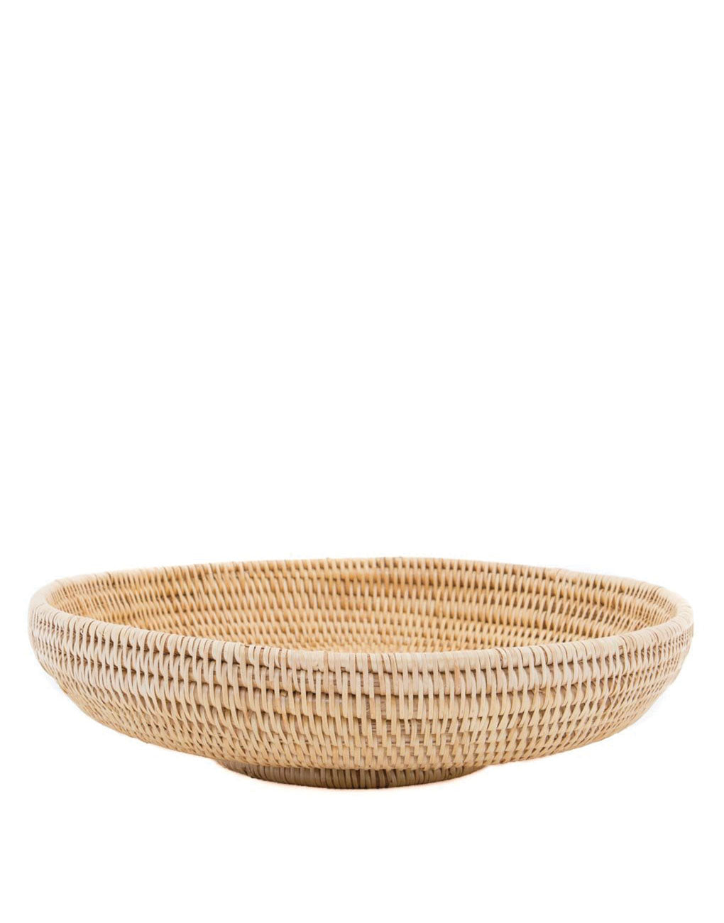 Large Rattan Woven Natural Basket In Natural | The Little Market