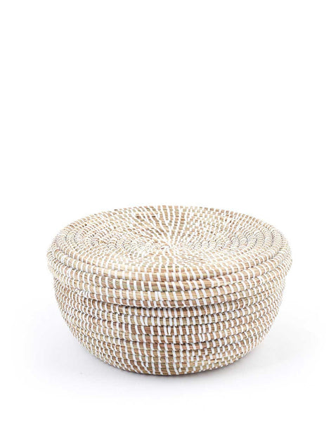 Round Basket - White