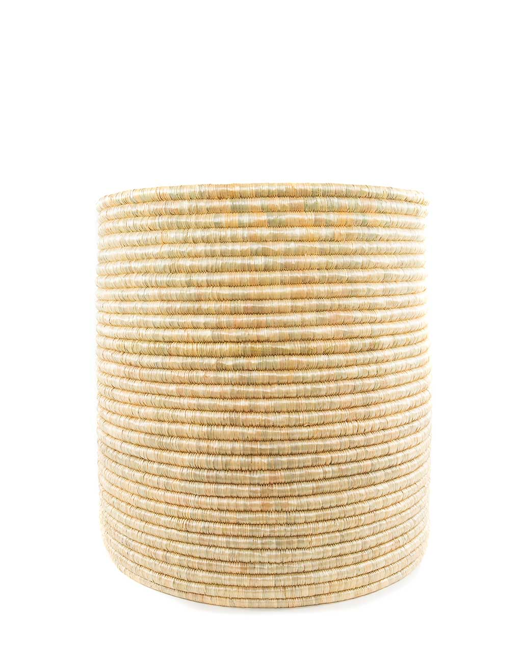 Large Natural Round Woven Storage | The Little Market