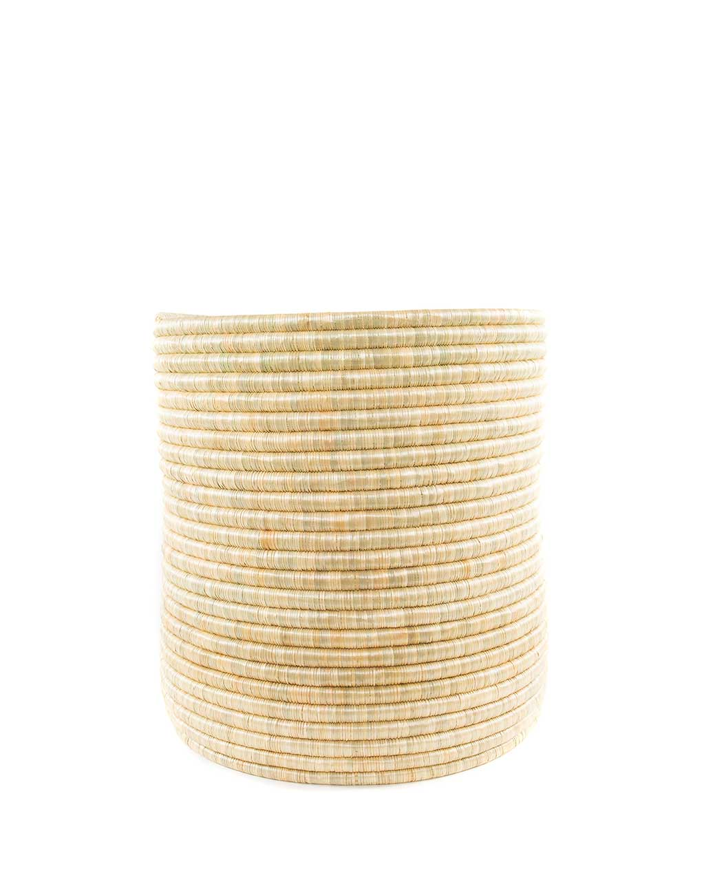 Medium Natural Round Woven Storage | The Little Market