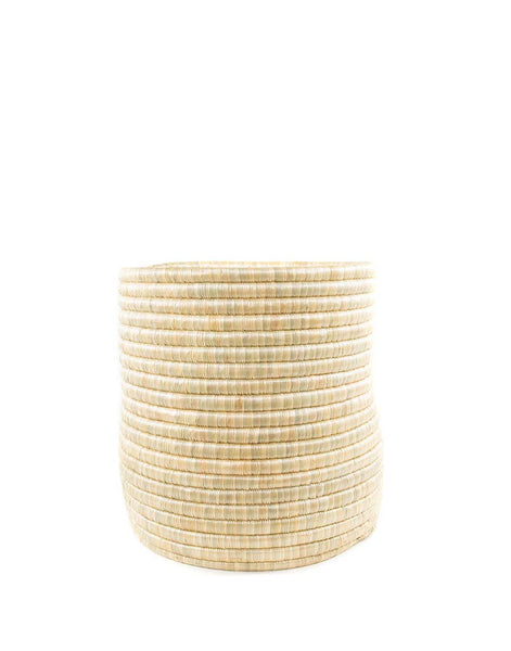 Small Natural Round Woven Storage | The Little Market
