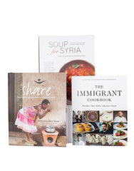 Set of 3 Cookbooks Bundle | The Little Market