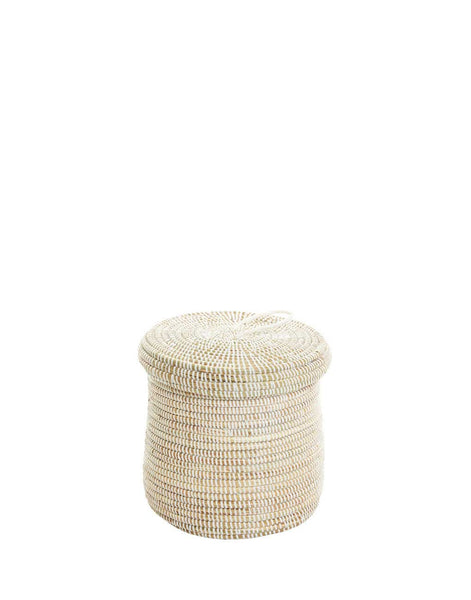 Small Basket - White