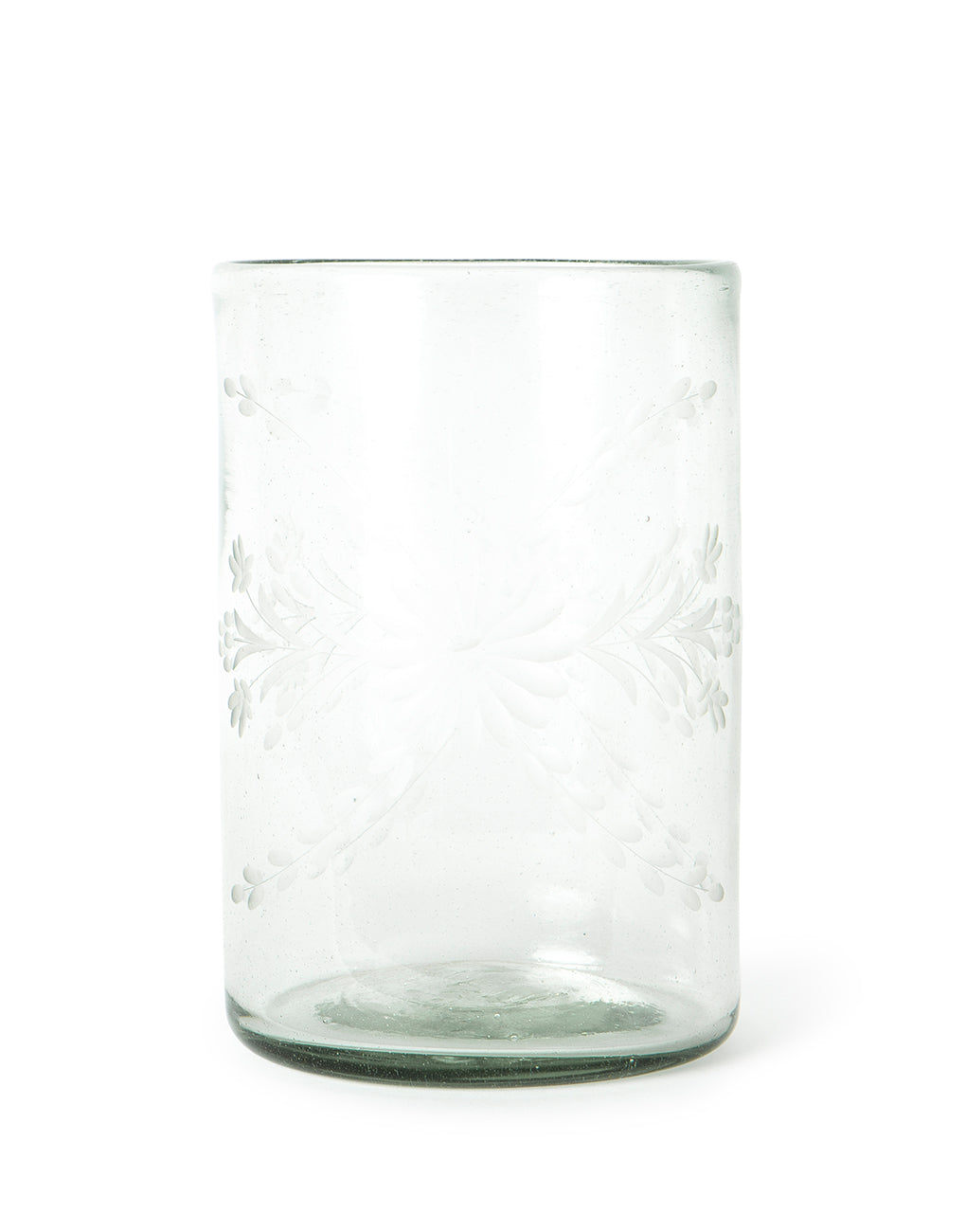 Small Clear Flower Glass Vase | The Little Market