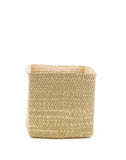 "11"" Inch Square Iringa Basket In Natural 