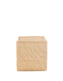 "10"" Inch Square Open Weave Iringa Basket In Natural 