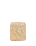 "9"" Inch Square Open Weave Iringa Basket In Natural 