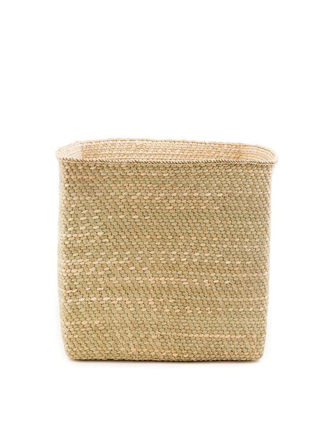 Square Iringa Basket - Natural