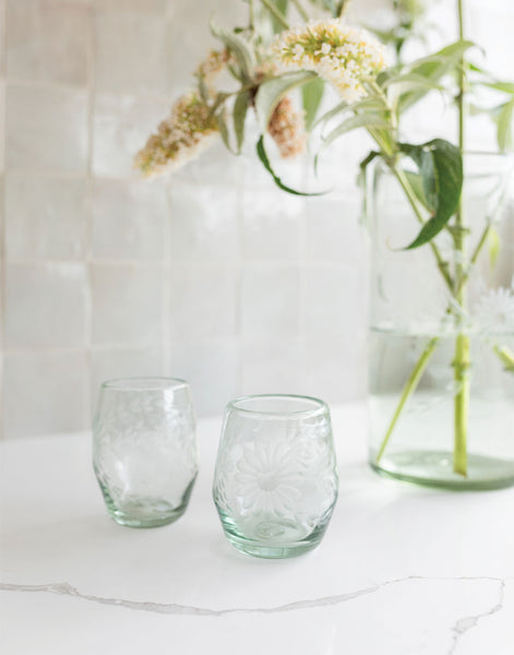 Clear Stemless Wine Glass | The Little Market