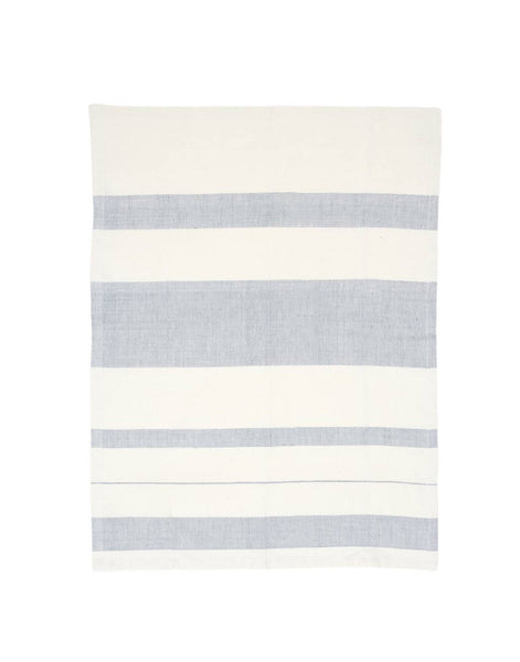 Striped Kitchen Towel - Blueberry