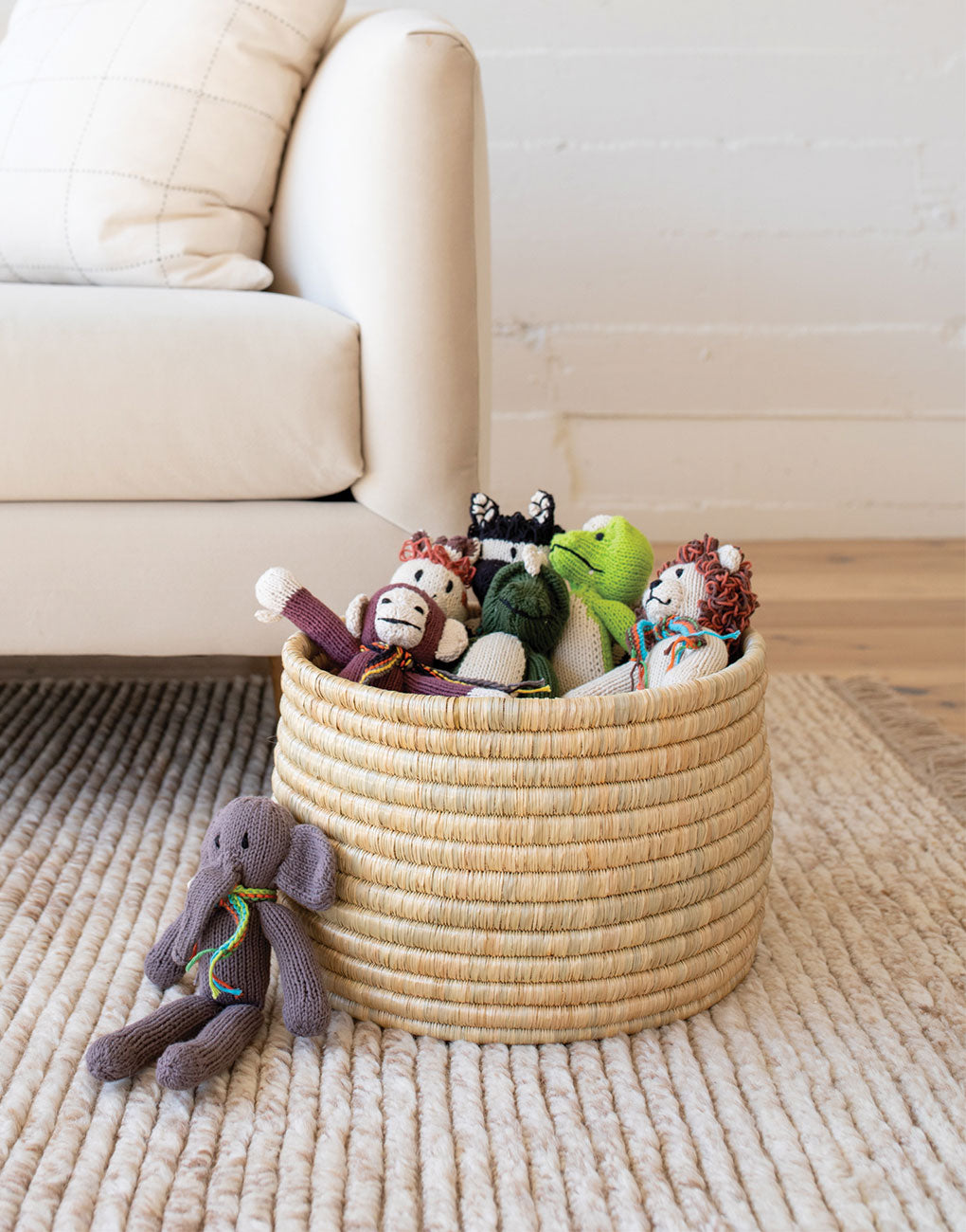 Organic Crocodile Stuffed Animal | The Little Market