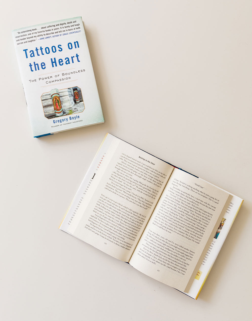 Tattoos on the Heart Book | The Little Market