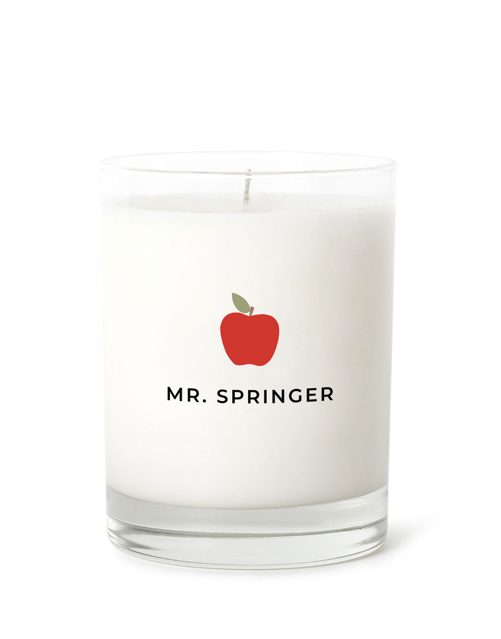 Candle Label - Teacher Personalized | The Little Market