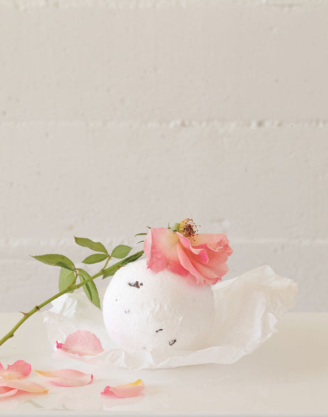 Rose Scented Bath Bomb | The Little Market