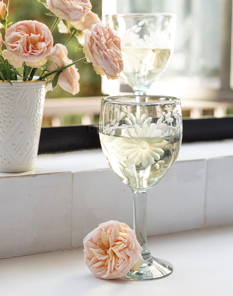 Clear Wine Glass | The Little Market